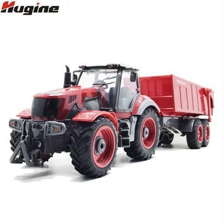 ★日本未発売★RCトラックファームトラック 遠隔制御 トラクター ダンプトラック ラジコン 趣味 おもちゃ