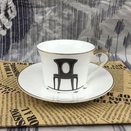 新品送料込 ティーカップ 200ml ソーサー スプーン 3点セット シンプルモダン 磁器 コーヒー お茶会に 食器 高級装飾 贈り物