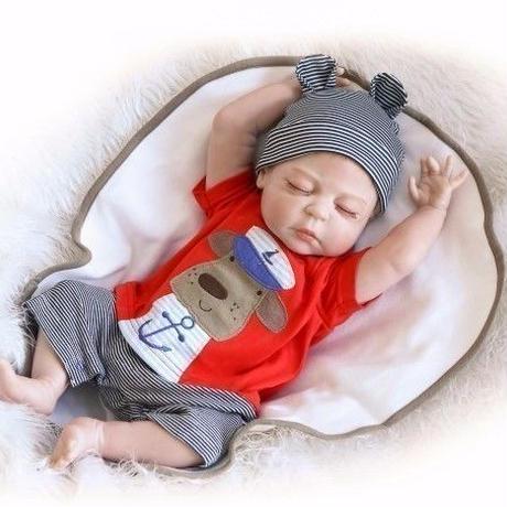 リボーンドール バンザイねんね 男の子 乳児 赤ちゃん人形 ベビー人形 ベビードール リアル ハンドメイド フルシリコンビニール