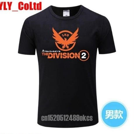 ディビジョン2 デザイン Tシャツ 半袖 ユニセックス ゲームグッズ Division2