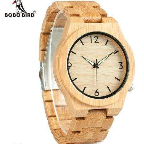 【BOBO BIRD】ボボバード ユニセックス 木製腕時計 カラフル【自然に優しい天然木】