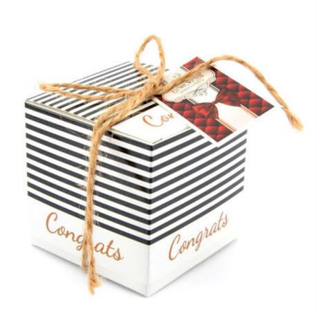 新品送料込 ギフトボックス 20個セット ストライプ リボン付 バレンタイン お誕生日会 結婚式 ラッピング プレゼント