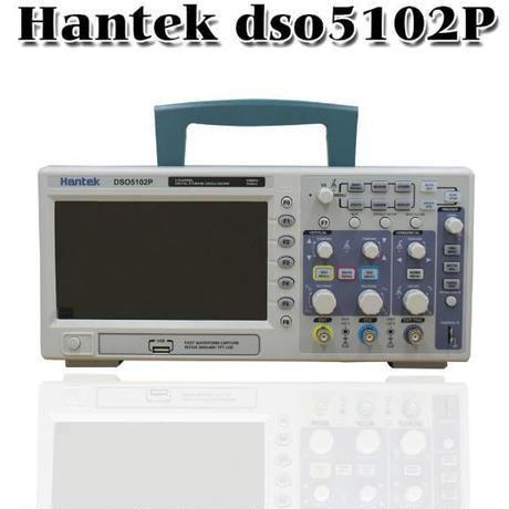 Hantek DSO5102P デジタルオシロスコープ 100MHz 1Gs 2CH 7 TFT 40k 800x480