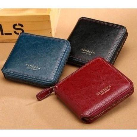 sendefn 3色展開 タッセルストラップ付き 小さな財布 レディース財布
