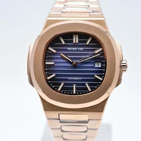 PETER LEE メンズ腕時計 トップブランド高級 文字盤 自動巻 紳士用 新品 【12色】