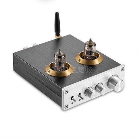 2カラー 最新Nobsound Bluetooth 4.0 HiFi真空6J1チューブデジタルアンプD級HiFiステレオパワーアンプ内蔵ホームオーディオ