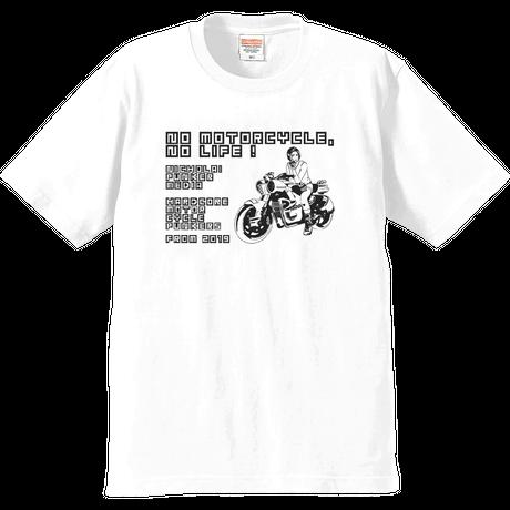 NPM - NO MOTORCYCLE NO LIFE! LITE Ver- T-shirt