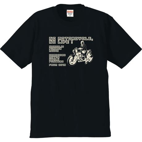 NPM - NO MOTORCYCLE NO LIFE! - T-shirt