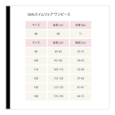 """Girlsスイムウェア ワンピース """"Dot Khaki"""""""