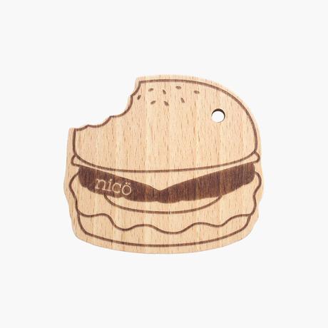 ハンバーガー歯固め