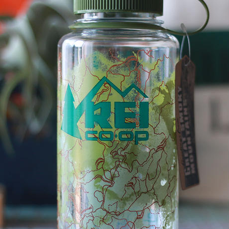 REI  Nalgene  Wide  Water Bottle 'GREAT SMOKY MOUNTAINS National park'
