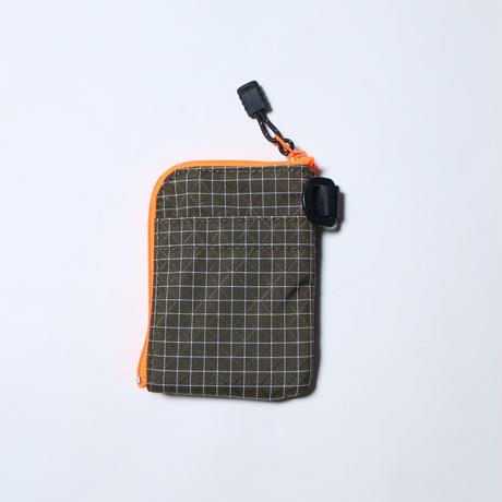 half track products(ハーフトラックプロダクツ)Hiking ticket  OLIVE x ORANGE