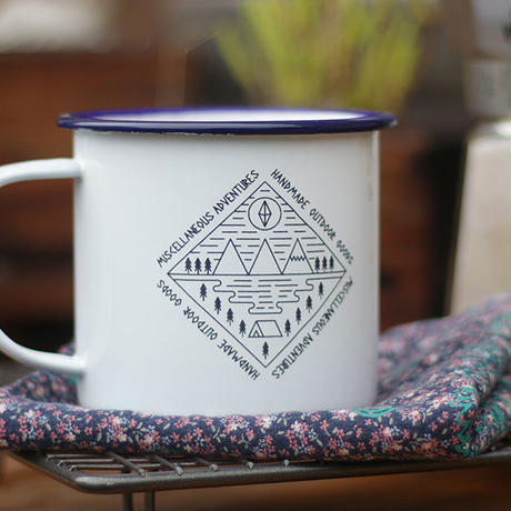Miscellaneous Adventures/Enamel Mug (Camp Scene)