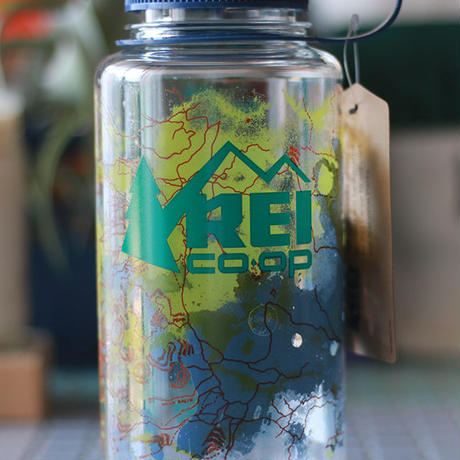 REI  Nalgene  Wide  Water Bottle 'ROCKY MOUNTAIN National park'