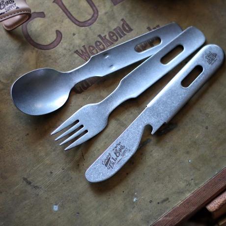 【予約商品12月中旬お届け】T.S.L CUB   vintage cutlery set