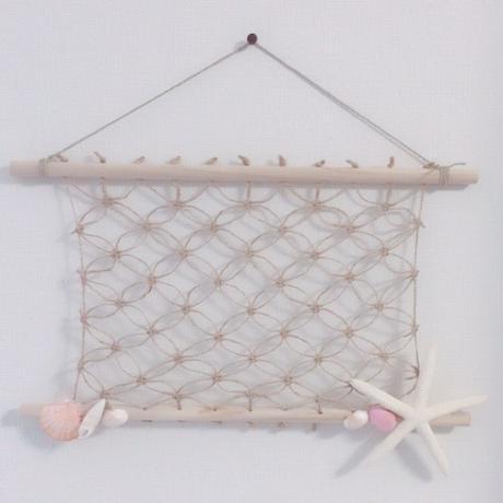 マクラメ編み 麻ひもボード サマー