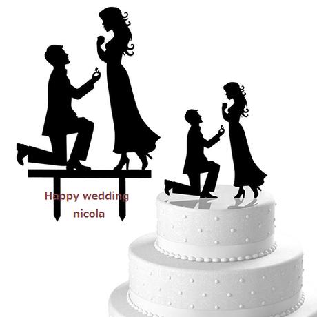 wedding cake Topper Type2