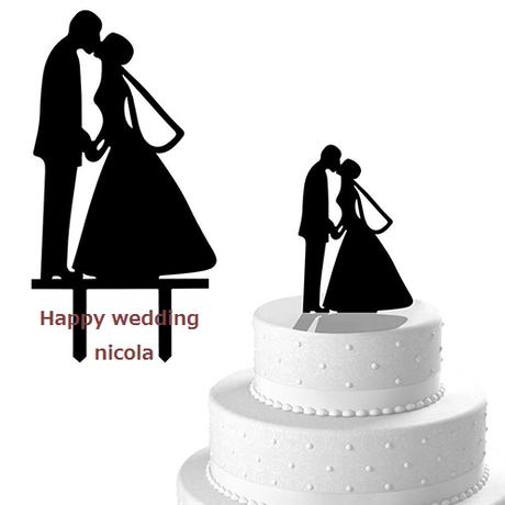 wedding cake Topper Type 1