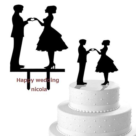 wedding cake Topper Type 4