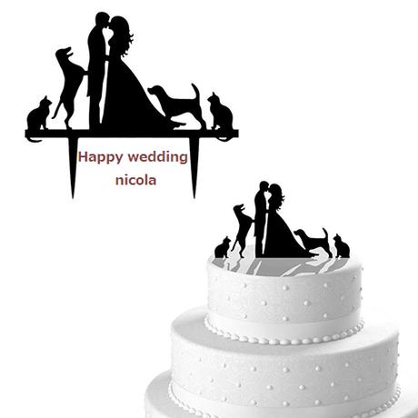 wedding cake Topper Type3