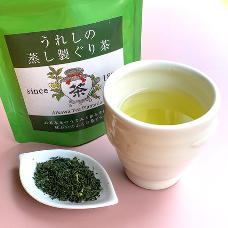 うれしの蒸し製ぐり茶