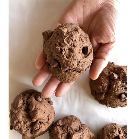 スペルト小麦のチョコチップスコーン