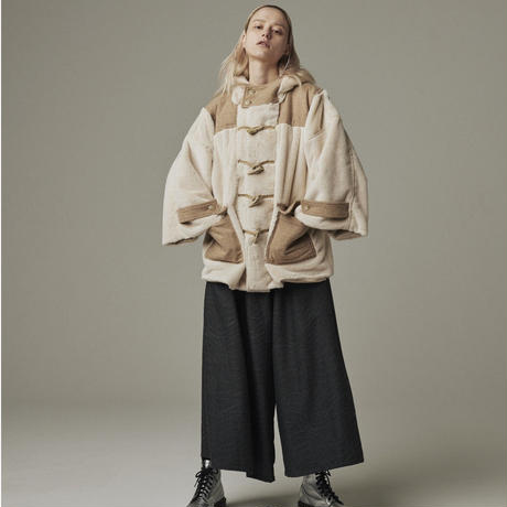 【19-20A/W 受注予約商品】Duffle fur coat