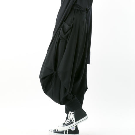 《BLACK by -niitu-》 Ramiel pants (BLACK)
