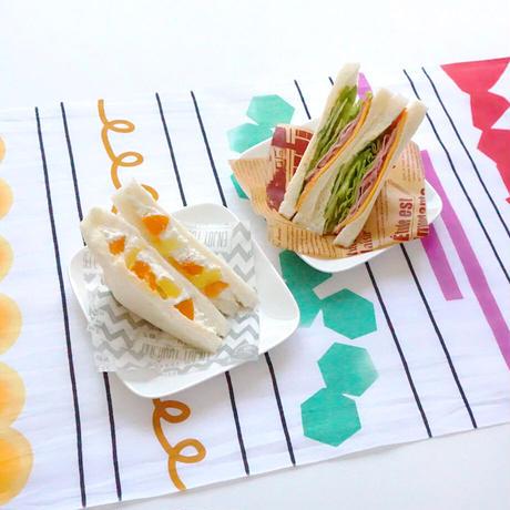 手ぬぐい|sandwich textile〔everyday60tenugui〕