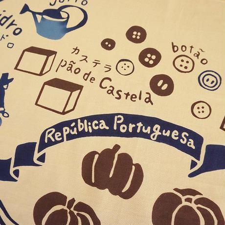 手ぬぐい|Lingua-Portugal-