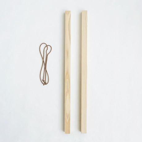 タペストリー棒|TAPESTRY STICK タテ柄用