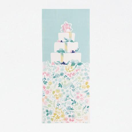 手ぬぐい|wedding cake