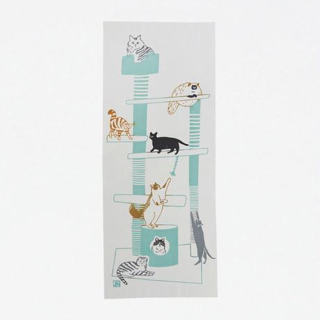 手ぬぐい|cat tower