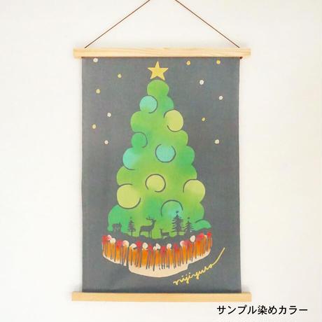 手ぬぐい|Christmas night〔60cm手ぬぐい〕