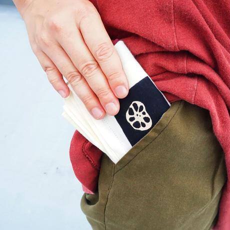 ポケットから手ぬぐいエコバッグ 地球のふところ。秋