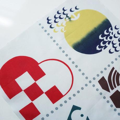 手ぬぐい デンマークからのお手紙-Denmark-