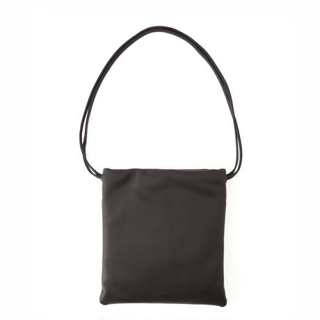DRAWSTRING BAG_COW/BLACK
