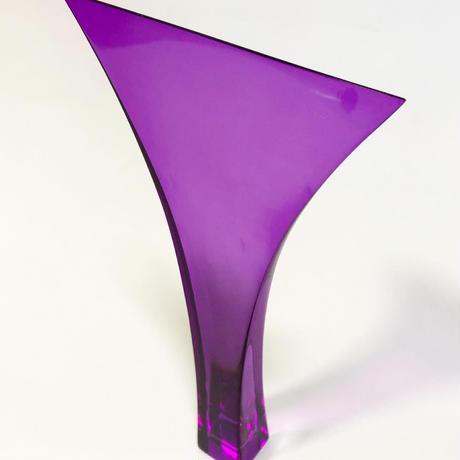 【万葉撥】30号 アクリル撥 紫色