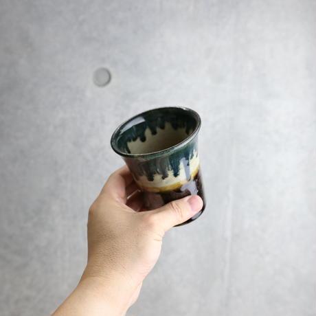 【北窯 松田米司工房】呉須釉 フリーカップ ③