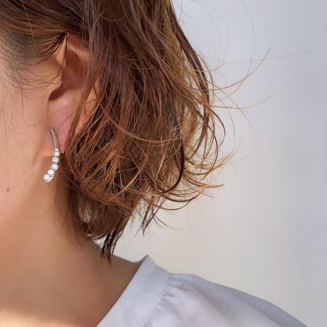 【nikori】 drop silver pierce/ earring