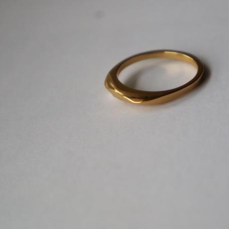 Paw silver ring #005Rgo