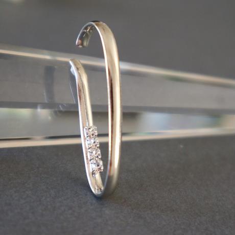 【nikori】 rhinestone type  gold / silver