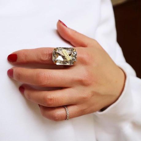 【nikori】 cubic  ring