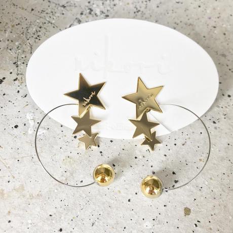 【nikori】 PLANET-normal silver pierce / earring
