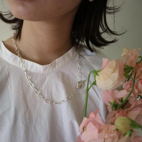 Paw silver necklace/bracelet  chain original-type(50cm) # 007N-501