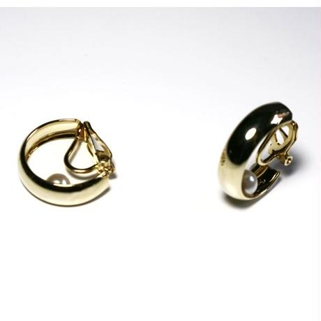 C-ring _ gold  pierce /  earring