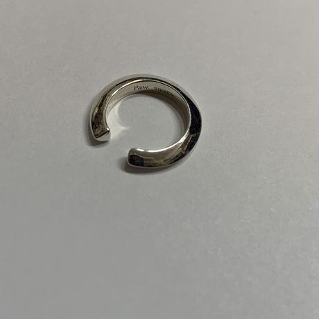 Paw silver  cuff #037Csv