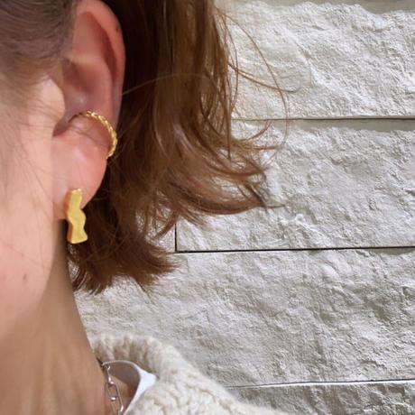 Paw silver ring /ear cuff #0017Rgo