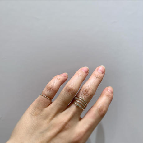 Paw Stacking ring (normal type/dot type)  #0014R