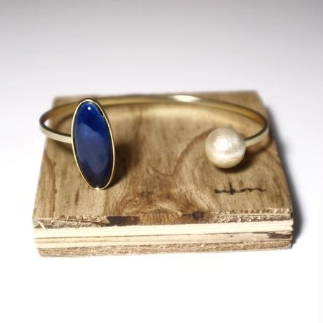 七宝  bracelet _ deep blue